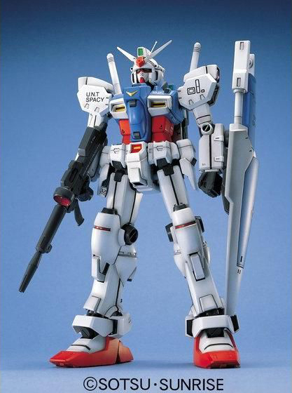"MG 1/100 RX-78GP01 ガンダム試作1号機ゼフィランサス [Gundam ""Zephyranthes""] 0057919"