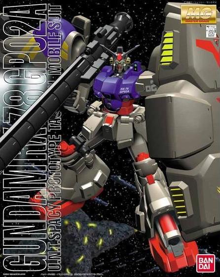 "MG 1/100 RX-78GP02A ガンダム試作2号機 サイサリス [Gundam ""Physalis""]"