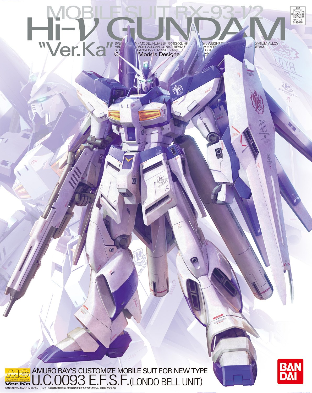 """MG 1/100 RX-93-ν2 Hi-νガンダム Ver.Ka [Hi-ν Gundam """"Ver.Ka""""] 0192078"""