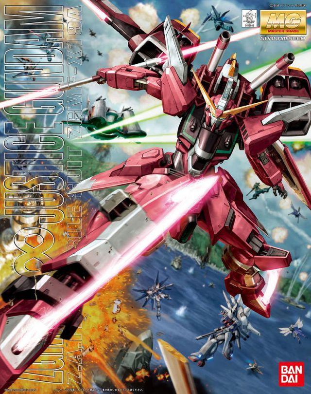 MG 1/100 ZGMF-X19A インフィニットジャスティスガンダム [∞ Justice Gundam]