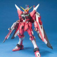 MG 1/100 ZGMF-X19A インフィニットジャスティスガンダム [∞ Justice Gundam] 公式画像1