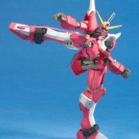 MG 1/100 ZGMF-X19A インフィニットジャスティスガンダム [∞ Justice Gundam] 公式画像3