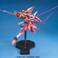 MG 1/100 ZGMF-X19A インフィニットジャスティスガンダム [∞ Justice Gundam] 公式画像4
