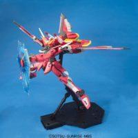MG 1/100 ZGMF-X19A インフィニットジャスティスガンダム [∞ Justice Gundam] 公式画像5