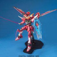MG 1/100 ZGMF-X19A インフィニットジャスティスガンダム [∞ Justice Gundam] 公式画像6
