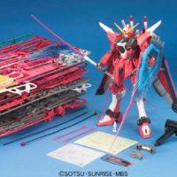MG 1/100 ZGMF-X19A インフィニットジャスティスガンダム [∞ Justice Gundam] 公式画像9