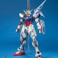 MG 1/100 GAT-X105 ランチャー/ソードストライクガンダム [Launcher Strike Gundam / Sword Strike Gundam] 公式画像1