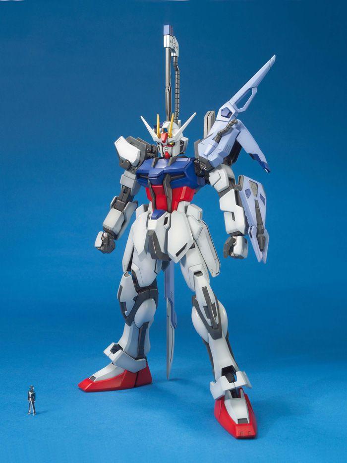 59565MG 1/100 GAT-X105 ランチャー/ソードストライクガンダム [Launcher Strike Gundam / Sword Strike Gundam]
