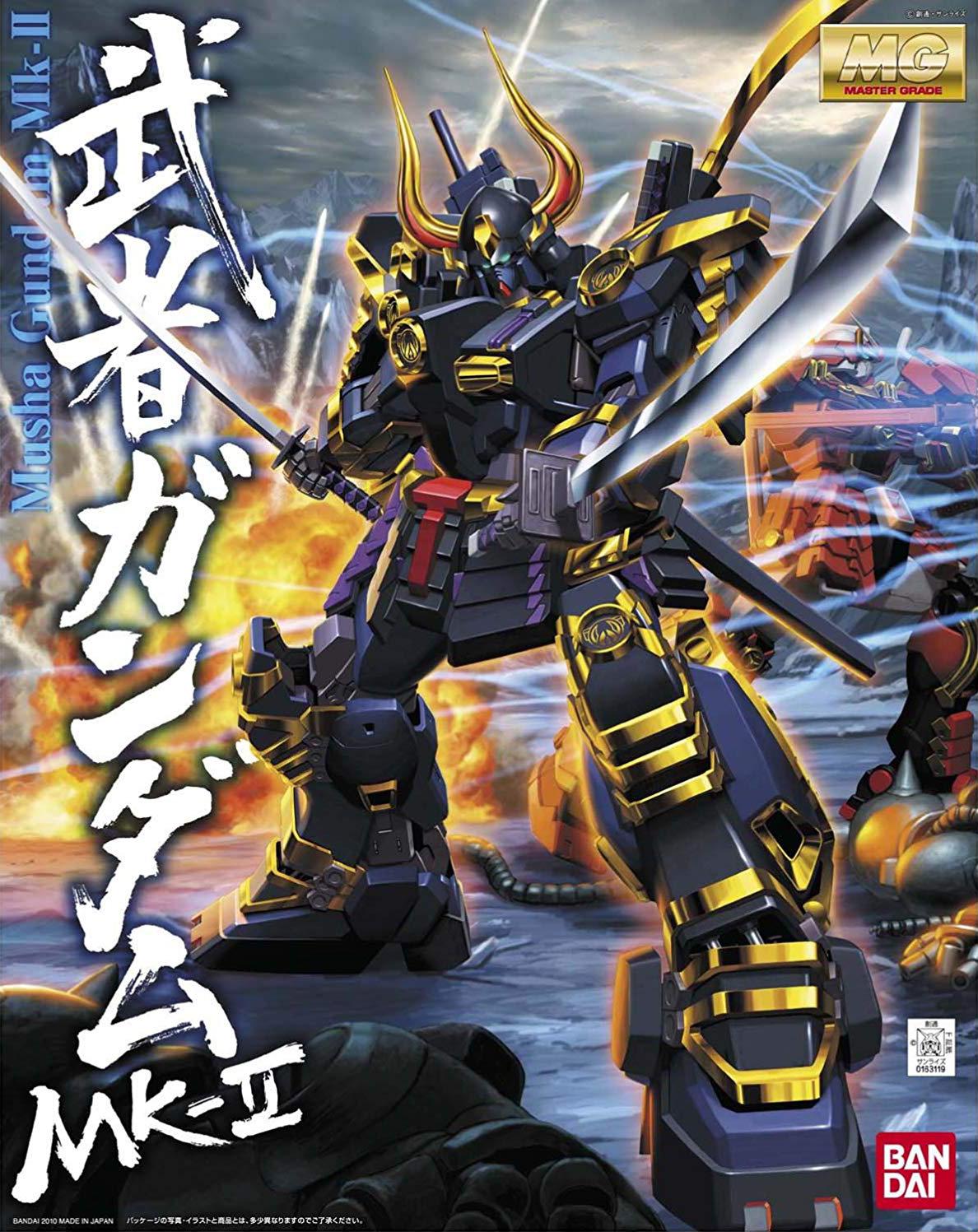 MG 武者ガンダムMk-II [Musha Gundam Mk. II] 0163119 4543112631190