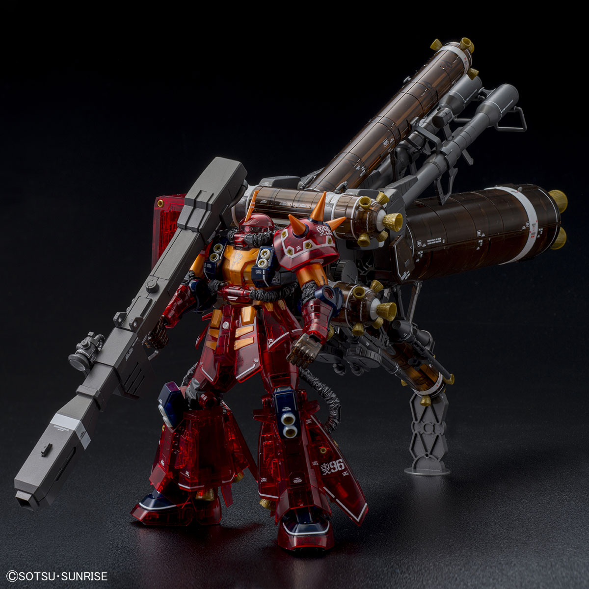 "MG 1/100 高機動型ザク""サイコ・ザク""Ver.Ka(GUNDAM THUNDERBOLT版) [ハーフメカニカルクリア]"