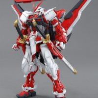 MG 1/100 MBF-P02KAI ガンダムアストレイレッドフレーム改 [Gundam Astray Red Frame Kai] 素組画像