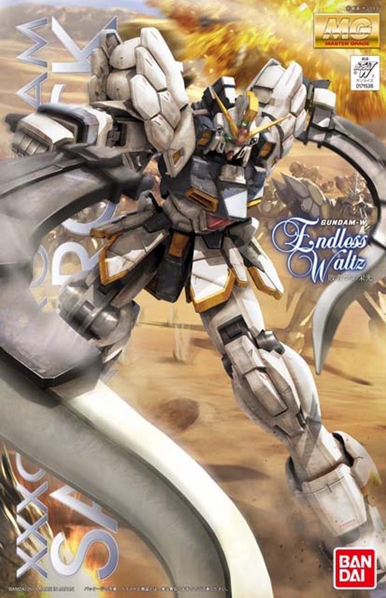 MG 1/100 XXXG-01SR ガンダムサンドロック EW [Gundam Sandrock EW] パッケージアート