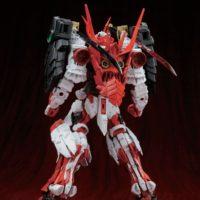 MG 1/100 侍ノ弐 戦国アストレイ頑駄無 [Sengoku Astray Gundam] 0185184 4543112851840 試作画像3