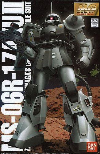 MG 1/100 MS-06R-1 ザクII シン・マツナガ大尉機 [Zaku II (Shin Matsunaga custom)]