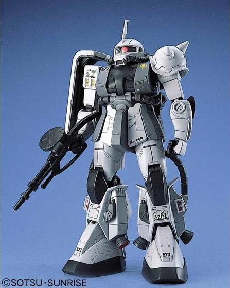 55672MG 1/100 MS-06R-1 ザクII シン・マツナガ大尉機 [Zaku II (Shin Matsunaga custom)]