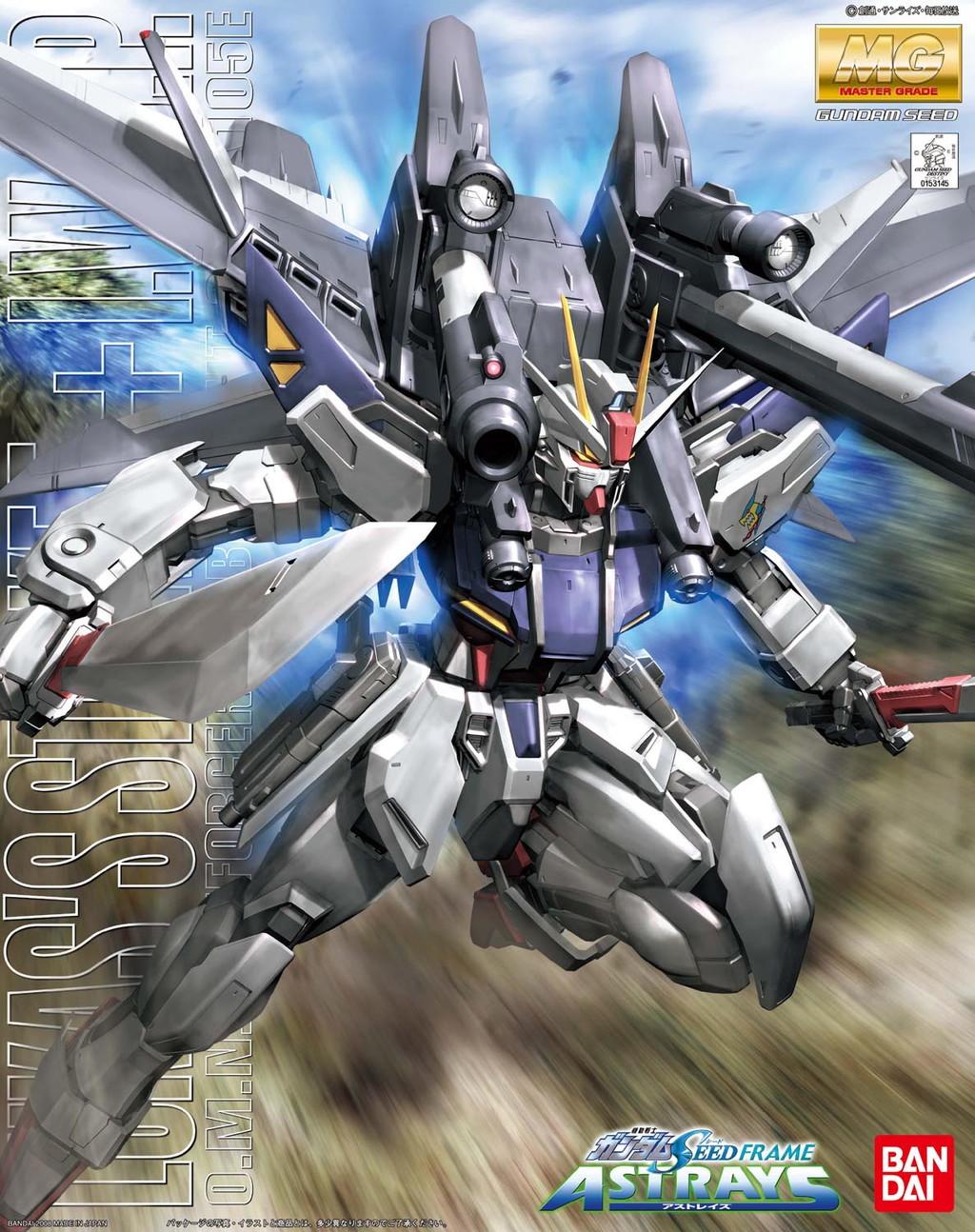MG 1/100 GAT-X105E ストライクE+I.W.S.P. ルカス・オドネル専用機 [Lukas's Strike E + I.W.S.P.]
