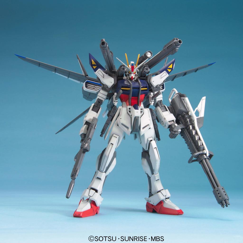 59557MG 1/100 GAT-X105E ストライクE+I.W.S.P. ルカス・オドネル専用機 [Lukas's Strike E + I.W.S.P.]