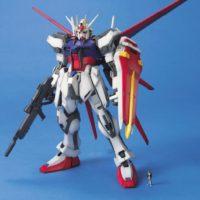 MG 1/100 GAT-X105 エールストライクガンダム [Aile Strike Gundam] 公式画像1