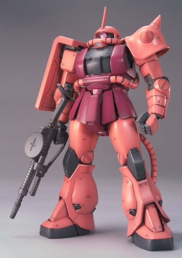 MG 1/100 MS-06S シャア専用ザク Ver.2.0 [Zaku II Commander Type (Char Aznable Custom) Ver. 2.0] 0149834 4543112498342