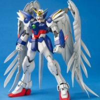 MG 1/100 XXXG-00W0 ウィングガンダムゼロ (エンドレスワルツ版) [Wing Gundam Zero EW] 素組画像