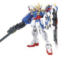 MG 1/100 XXXG-01W ウイングガンダム EW [Wing Gundam EW] 素組画像