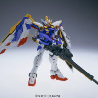 "MG 1/100 XXXG-01W ウイングガンダム Ver.Ka [Wing Gundam ""Ver.Ka""] 素組画像"