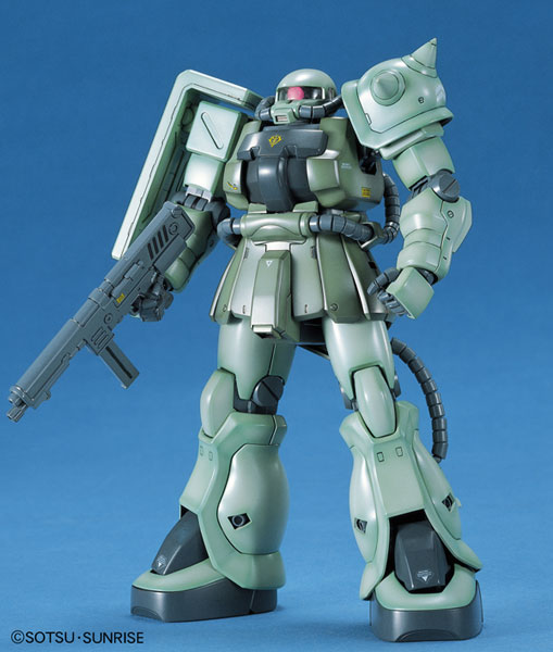 MG 1/100 MS-06F-2 ザクII F2型 [Zaku II F2 Type (Zeon Version)]