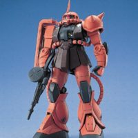 MG 1/100 MS-06S シャア・アズナブル専用 ザクII [Zaku II Commander Type (Char Aznable custom)]