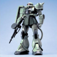 MG 1/100 MS-06F/J ザクII [Zaku II] 公式画像1
