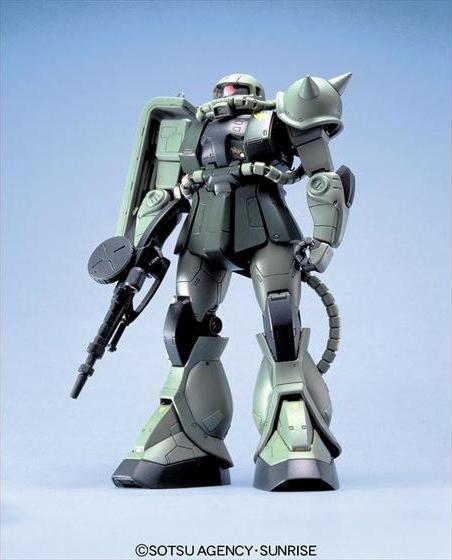 55666MG 1/100 MS-06F/J ザクII [Zaku II]