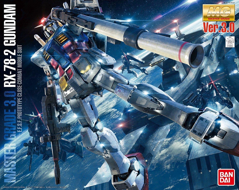 MG 1/100 RX-78-2 ガンダム Ver.3.0 [Gundam Ver.3.0] 0183655
