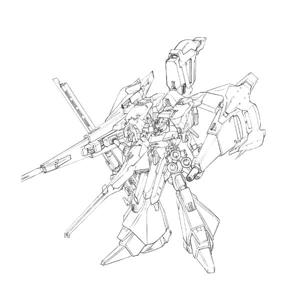 ORX-005 ギャプランTR-5〈アドバンスド・フライルー〉 フルアーマー形態