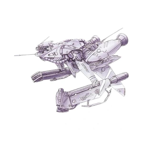 AMBACシステム採用試作機(AMBACシステム採用の機動兵器) [AMBAC Space Pod]
