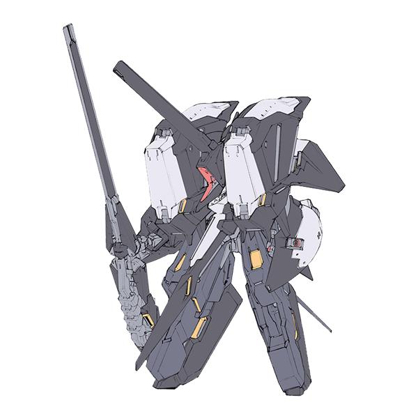 "RX-124 ガンダムTR-6〈アドバンスド・キハールII〉[実戦配備仕様] [Gundam TR-6 (Advanced Kehaar II) ""Combat Deployment Type""]"