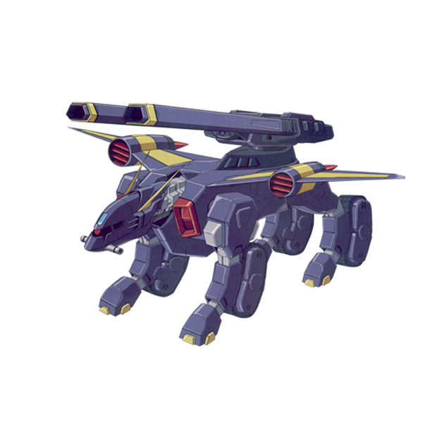 TMF/A-802 バクゥ(レールガン装備型)