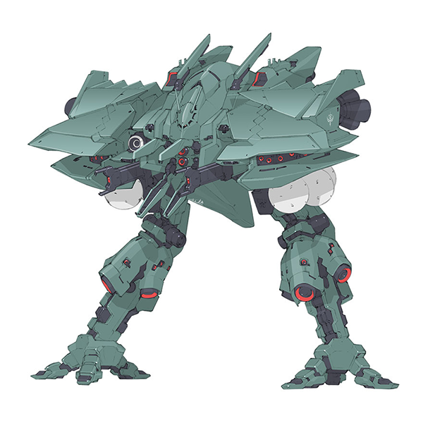 AMA-01S ビグ・ザムール [Byg-Zamuru]《A.O.Z》