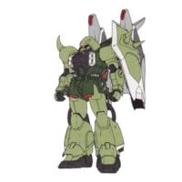 ZGMF-1000/M ブレイズザクウォーリア