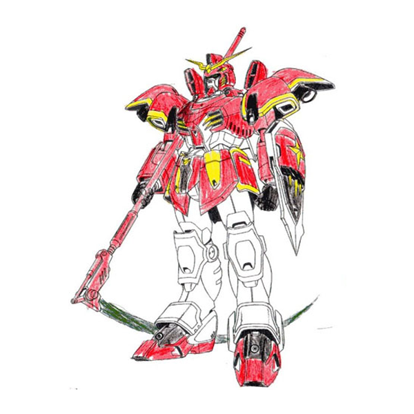 XXXG-01D ガンダムデスサイズ[ゲストガンプラ]