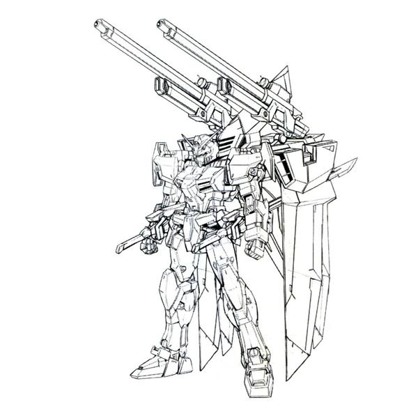 GAT-X102 デュエルガンダム 大気圏用装備