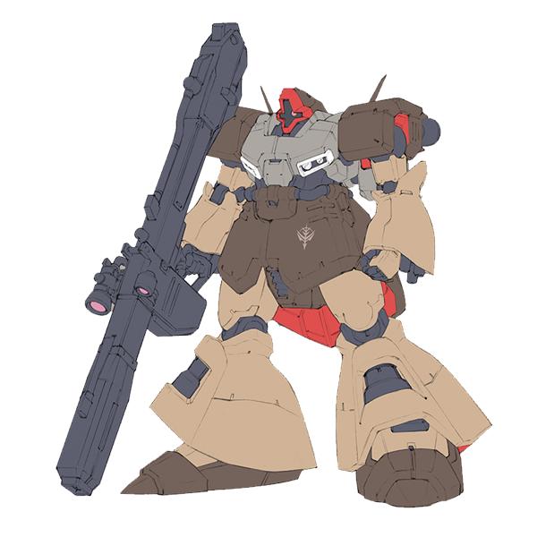 AMX-009G ドムIII(チェスター艦隊所属機) [Dom III]《A.O.Z》
