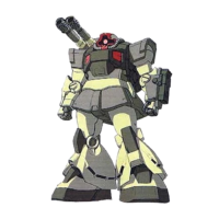 MS-09K-2 ドム・キャノン複砲仕様 [Dom Cannon Twin Gun Type]
