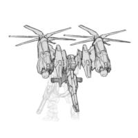 XXXG-01H ガンダムヘビーアームズ(ダムゼルフライ装備)(Endless Waltz版)