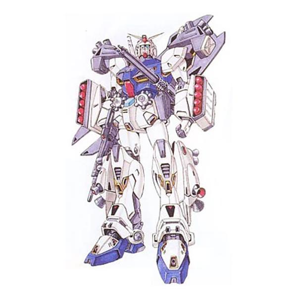 F90D ガンダムF90 デストロイドタイプ [Gundam F90 Destroid Type]