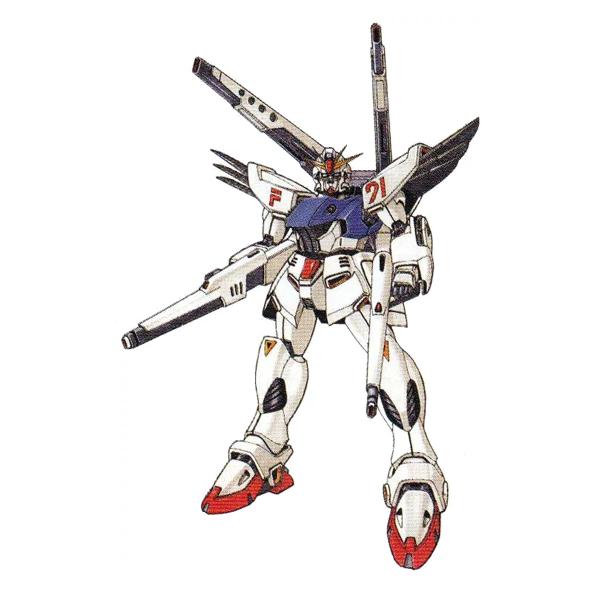 F91 ガンダムF91 ツインヴェスバータイプ [Gundam F91 Twin VSBR Type]