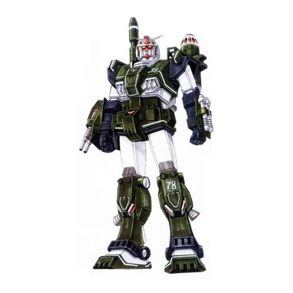 FA-78[G] フルアーマーガンダム陸戦タイプ [Full Armor Gundam Ground Type]