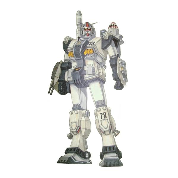 FA-78[G] フルアーマーガンダム陸戦タイプ2 [Full Armor Gundam Ground Type2]