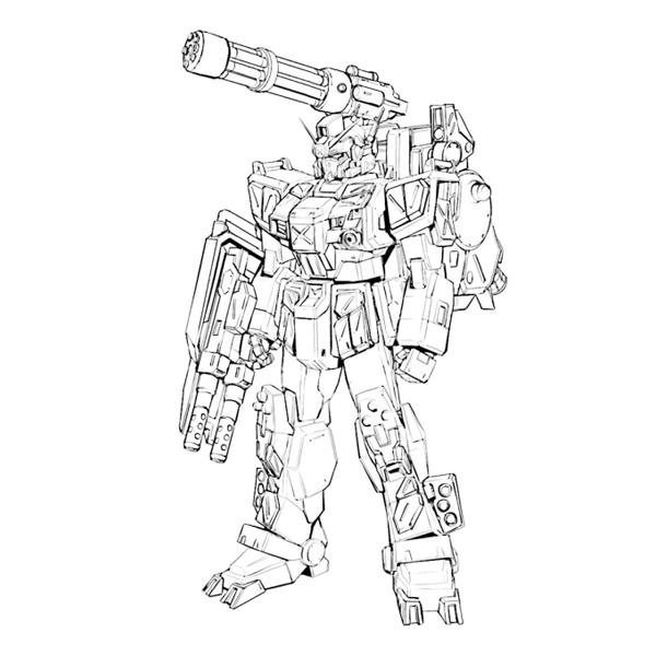 RX-79[G]WR フルアーマー・スレイヴ・レイス