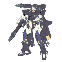 MSW-004 ガンダム〈ケストレル〉アーマー・エクステリア [Gundam (Kestrel) Armor Exterior]