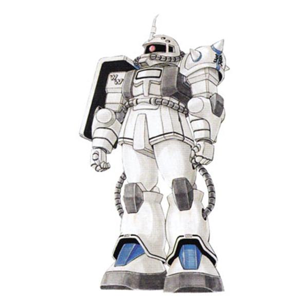 MS-06FS ザクII FS型 [シン・マツナガ専用機] [Zaku II FS Shin Matsunaga Custom]