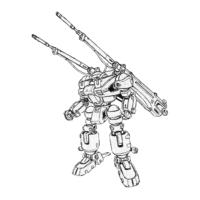 RGD-X2(GRD-X2) GDキャノン(ジードキャノン)